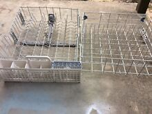 WHIRLPOOL DISHWASHER COMPLETE UPPER AND LOWER RACK SET PART  WDF510PAYW6