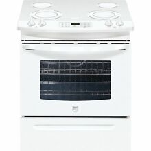 Kenmore 46782 30  Self Clean Slide In Electric Range w  Ceramic Smoothtop top