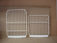 GE Refrigerator Freezer Rack Set 1 Each Part   WR71X10259 WR71X10274