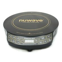 NuWave Precision Induction 1500 Watt Digital Cooktop w 10 5  Anodized Fry Pan
