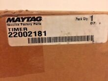 Whirlpool Maytag Washing Machine Timer WP22002181  A1295