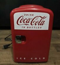 Coca Cola KWC 4C Countertop Mini Fridge Warmer Cooler Personal Koolatron 6 Pack