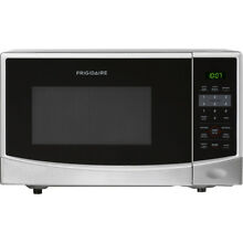 Frigidaire 0 9 Cu Ft  Countertop Microwave Oven   Stainless Steel