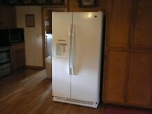 Genuine Maytag White Full Size Side by Side Refrigerator Freezer