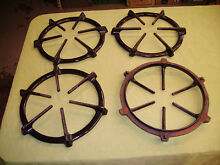 VINTAGE STOVE PARTS  Modern Maid Gas Range Cooktop Burner Solid Grates