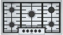 Bosch 500 Series NGM5656UC 36 Inch Gas Cooktop Sealed Burners Stainless Steel IM