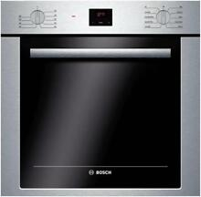 Bosch 500 Series 24  2 8 cu  ft  Convection Single Electric Wall Oven HBE5451UC