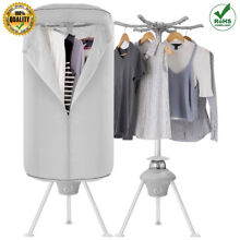 1000W Electric Clothes Dryer Portable Wardrobe Quick Heater Air Drying Machine