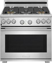 NIB Electrolux ICON 36 Inches Convection Gas Range E36GF76TPS