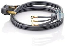 Smart Choice 6 ft  30 Amp 3 Wire Dryer Cord