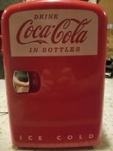Portable Coca Cola Mini Refrigerator Cooler Warmer