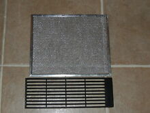 Jenn Air Downdraft Aluminum Grease Filter   707929 with Black Cook Top Vent Grid