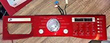 LG Tromm Washer Control Panel RED w User Interface 3720ER0011
