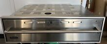 Viking Professional 36 Inch Warming Drawer Works Excellent