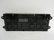 Maytag Range Clock   Timer Control Board  w out Overlay   WP12001627  74003763