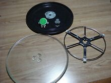 GE Advantium 120 Microwave Turntable Rotating Ring Assembly   Glass Plate   Tray