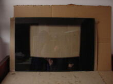 Whirlpool Range Main Outer Door Glass Black Part   9756414