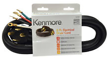 Kenmore Kenmore 99921 57001 4 Prong 6  Round Dryer Cord 8211 Black