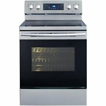 SAMSUNG NE59J7630SG 5 9CF Convection Electric Range Black Stainless Steel