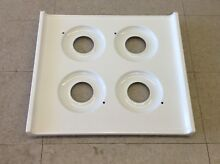 6272W Brown Stove 24 Inch Gas Range Porcelain Burner Cover MAIN TOP WNM610 NEW