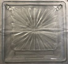 Microwave Plate Rectangle Replacement Glass  14 5  X 13 5  Jenn Air