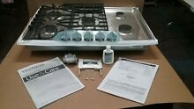 Frigidaire Gallery FGGC3047QS 30in Stainless Steel 5 Burner Gas Cooktop Range