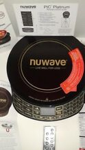 NuWave Platinum 30401 PIC Cooktop Black Remote Advanced Programmable Induction