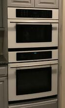 Jenn Air 30  White Black Stainless Microwave Combo Electr Wall Oven  JMW8530DAW