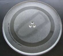 WB49X10108 GE Microwave Turntable 16  Glass Tray Plate PS956195 AP3202284