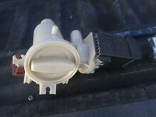 Whirlpool duet washer drain pump and housing
