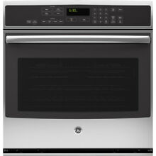 New GE PT9050SFSS 30  Stainless Single Electric Convection Wall Oven
