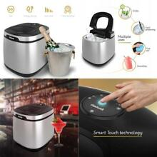 Gladwell Countertop Ice Maker Machine   Portable Nugget Ice Cube Makers Makes 50