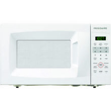 Frigidaire 0 7 Cu  Ft  700 watt Countertop Microwave 10 Power Levels  FFCM0724LW