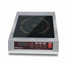 Mai Cook Stainless Steel 3500W Electric Induction Cooktop  Electric Countertop