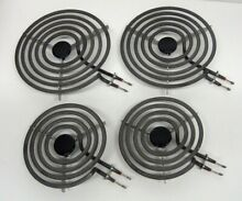 Electric Range Burner Surface Element Set of 4 Stove Top Cooktop MP15YA  MP21YA