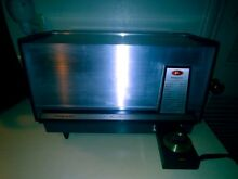 VTG  MID CENTURY 1950 S PRESTO CONTROL MASTER OVEN USED ONLY ONE TIME  VERY RARE