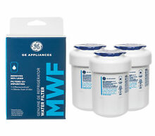 3Packs GE MWF MWFP GWF 46 9991 General Electric Smartwater Fridge Water Filter