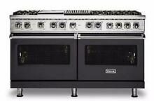 Viking Professional 5 Series VDR5606GQGG 60 inch Freestanding Dual Fuel Range