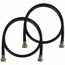 Certified Appliance 5ft  EPDM Rubber Washing Machine Fill Hoses   2 Pack