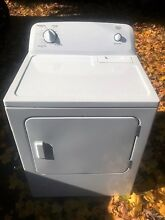 Used Roper Natural Gas Fired Clothes Dryer Model RGD4516FWO
