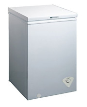 Midea WHS 129C1 Single Door Chest Freezer  3 5 Cubic Feet  White