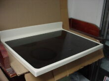 Whirlpool Range Glass Cooktop Miner Wear Almond Part   3196421