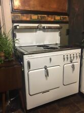 Chambers gas stove  WHITE 1950 S Deluxe vintage good condition