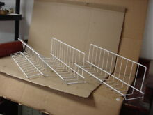 Kenmore Frigidaire Freezer Tilt Out Shelf Set 3 Total Part   216514100 216580600