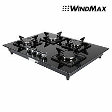 Branded 28  Cooktop Tempered Glass 4 Burners Built In NG LPG Gas Stove US Ship