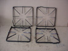 GE Range Burner Grate w  Wear Aging Stains Lot of 4 Part   WB31K10012