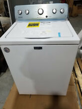 Maytag 4 2 cu ft High Efficiency Top Load Washer with Agitator  White  MVWC565FW