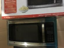 Magic Chef HMM1611ST 1100 W 1 6 Cu Ft  Countertop Microwave  Stainless Steel