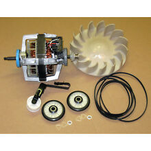 Dryer Motor w  Maintenance Kit Whirlpool Kitchenaid Kenmore Part 279827 4392065