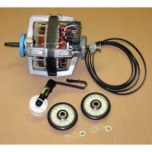 New Dryer Motor w Maintenance Kit Whirlpool Kitchenaid Kenmore Roper Part 279827